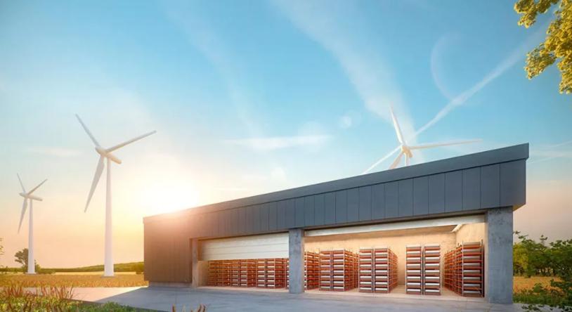风能光能规模增长 电网侧储能井喷式扩张