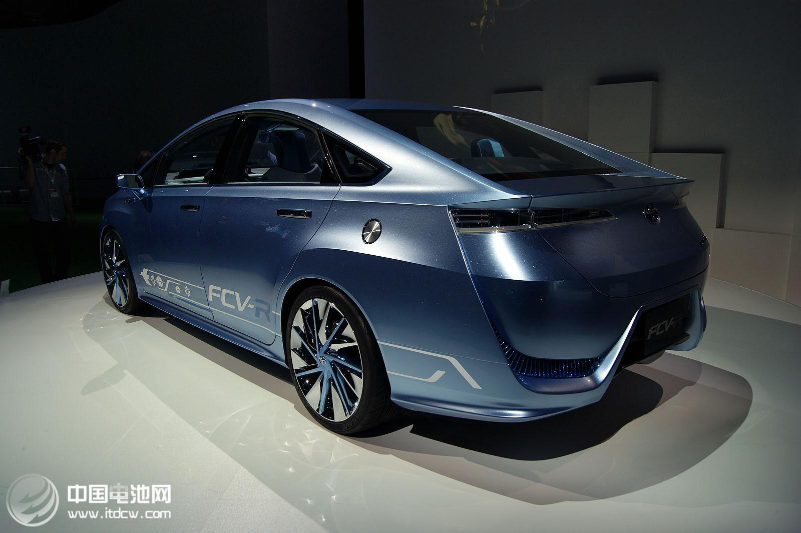 丰田氢燃料电池