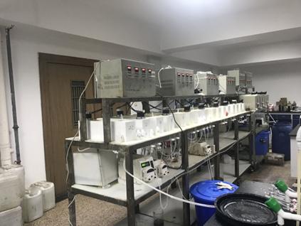 箱式萃取槽和离心萃取器试验平台
