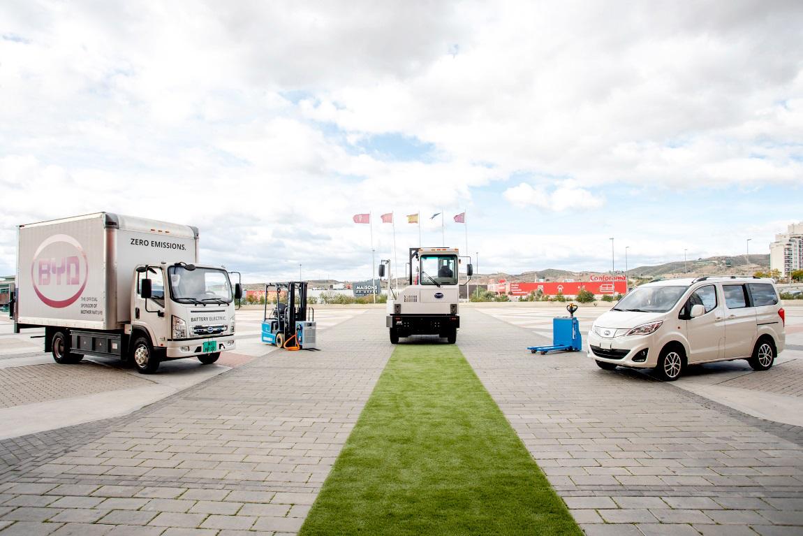 再推硬核产品!比亚迪纯电动卡车欧洲首秀