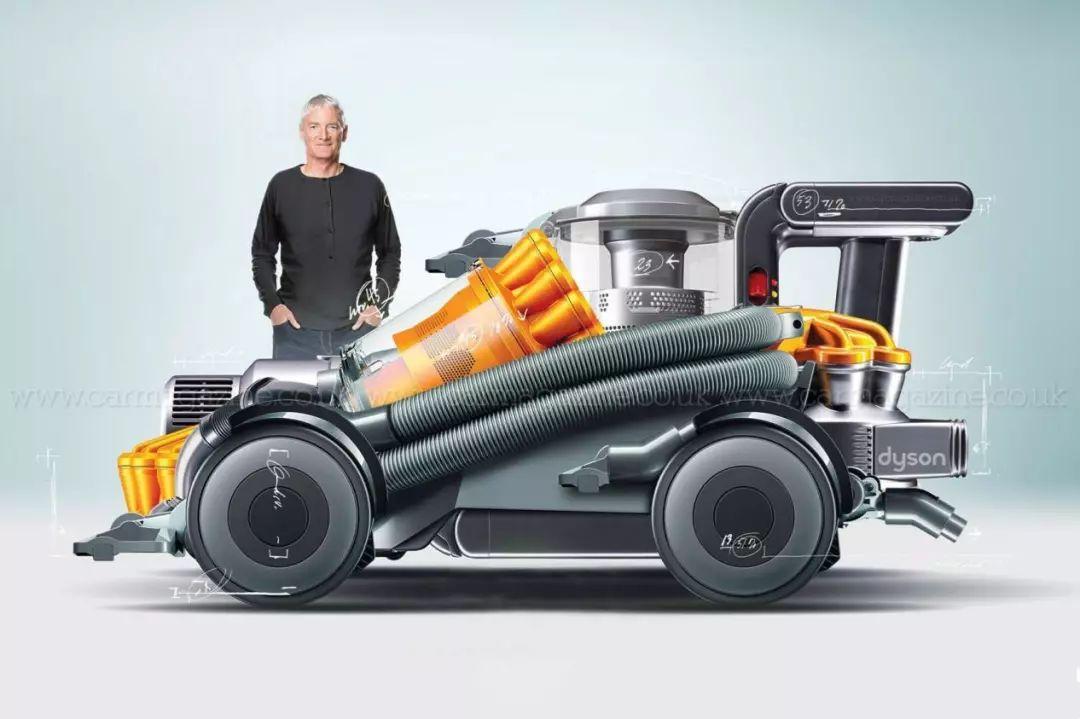 """戴森近200亿元造车进程加快 """"数字电机+固态电池""""成关键技术"""