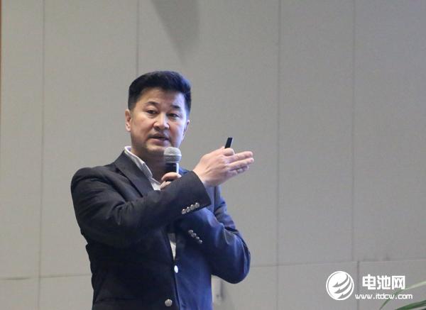 浙江长兴中俄新能源材料技术研究院院长王庆生