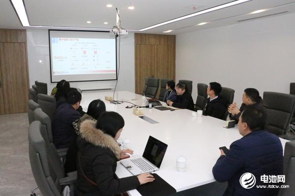 中国电池新能源产业链调研团一行与中伟新材料相关领导交流、座谈
