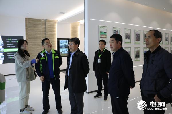 中国电池新能源产业链调研团一行参观调研湖南电将军