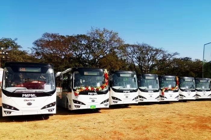 印度汽车重镇浦那追加125台 比亚迪打造当地最大纯电动大巴车队