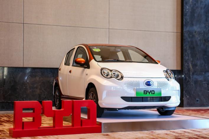 比亚迪发布e系列 开启纯电车型普及e时代