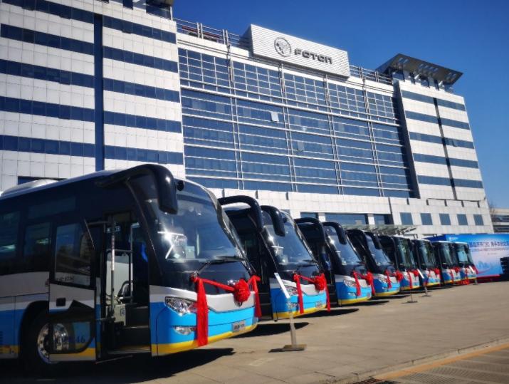 北京新添2790辆新能源公交 绿色公交年底达93.7%
