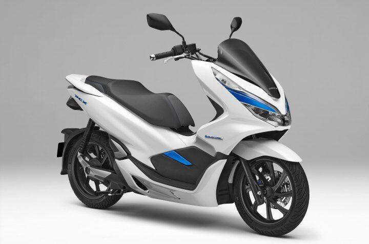 日本四大摩托车厂联合开发可更换电池 推广电动摩托