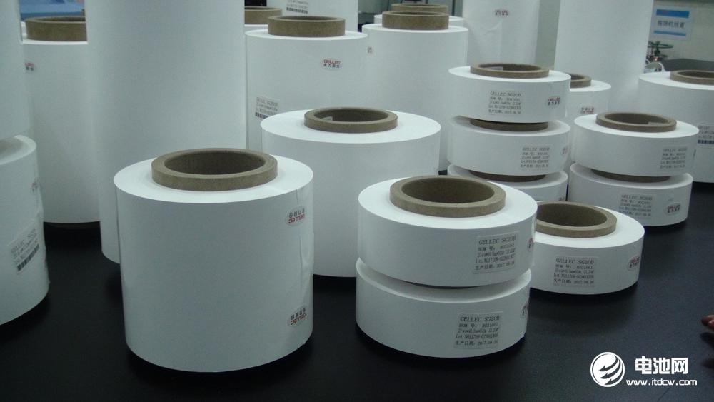 金力湿法隔膜产品