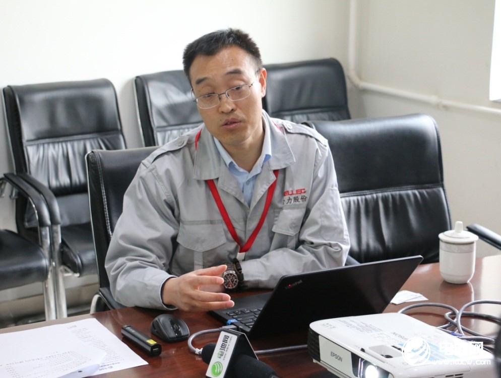 中国电池新能源产业链调研团一行与金力股份相关领导交流、座谈