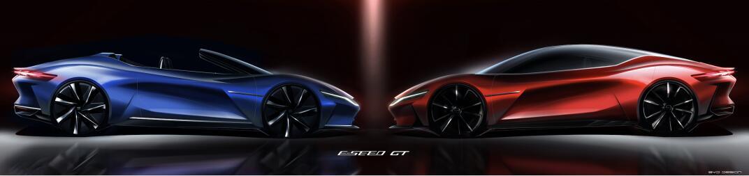 """比亚迪E-SEED GT震撼亮相 """"龙颜龙魂""""颜值与性能相辅相成"""