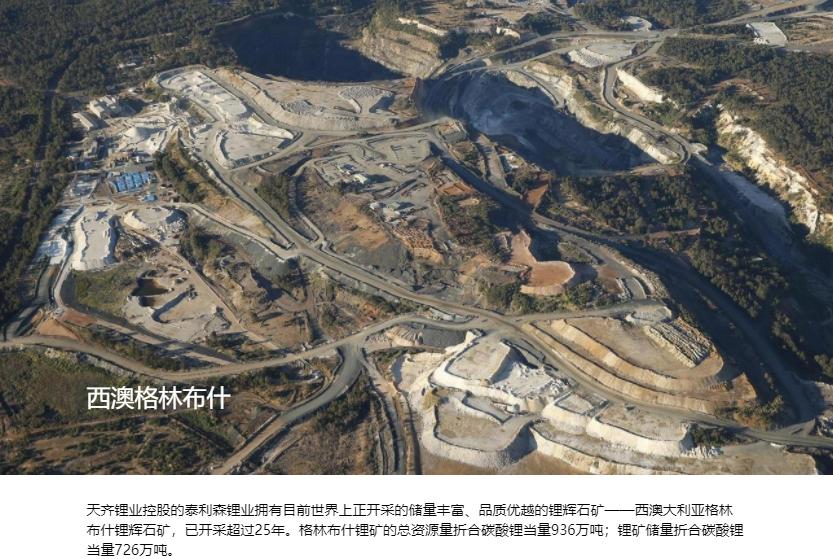 天齐锂业预计今年锂化合物产能将接近7万吨 产量同比增长超25%