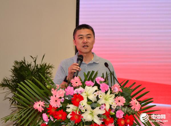 CQC中国质量认证中心高级工程师中国电器工业协会燃料电池分会副秘书长专家委员王刚致辞