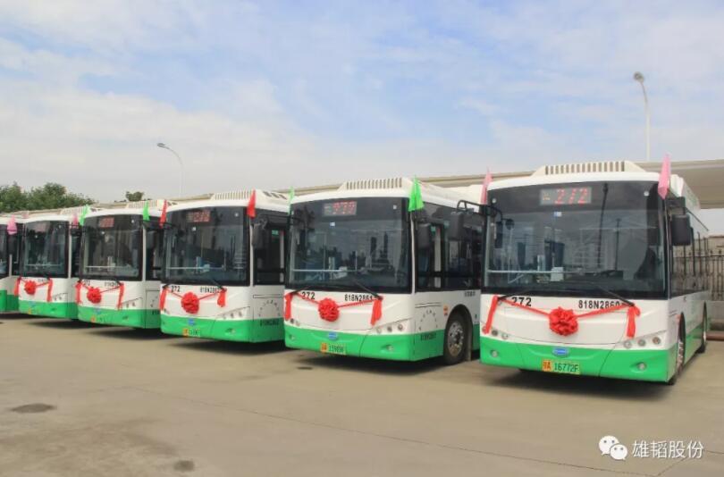 """氢能源公交车上线 雄韬氢雄助力武汉新能源公共交通迈向""""氢能时代"""""""