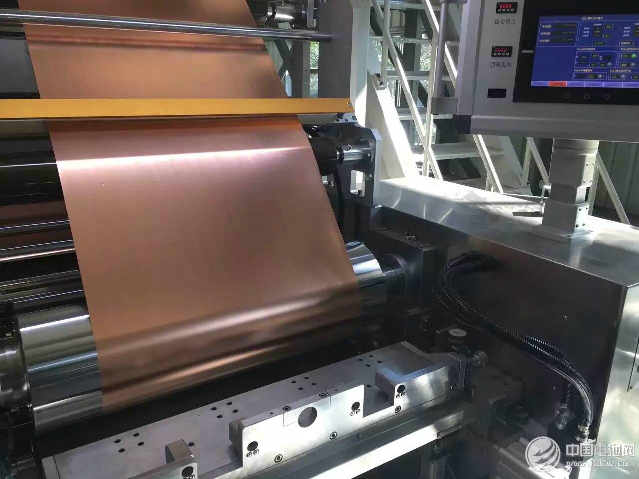 甘肃德福新材料投资32.5亿元建设年产5万吨锂电池电解铜箔