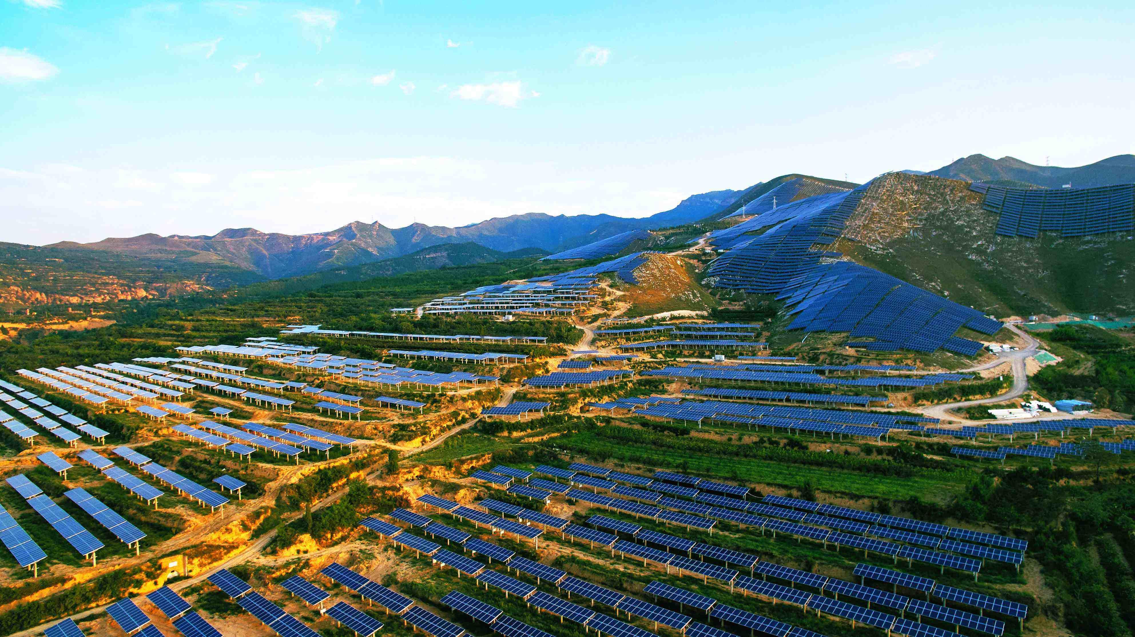 协鑫太阳能发电