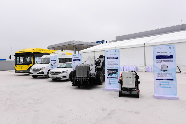 上海化工区燃料电池车加氢站正式落成 氢气日供应能力约2吨