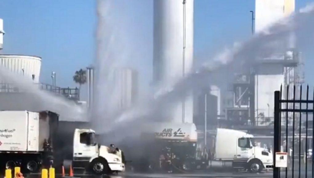 加州发生爆炸的化工厂