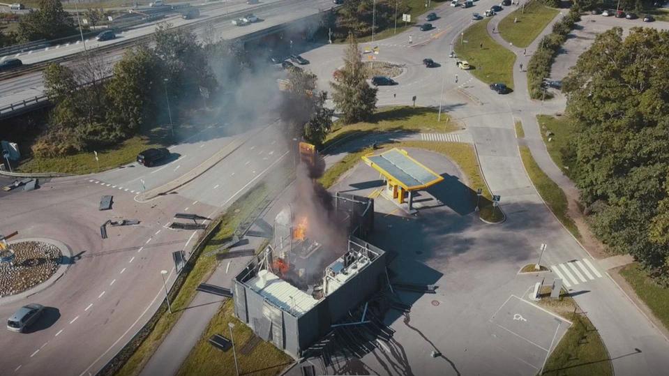 挪威加氢站发生爆炸