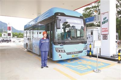 全国首座油氢合建站启用 日加氢能力达到500kg