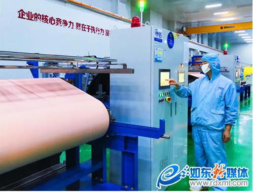 江东电子材料铜箔一期:月生产铜箔500吨