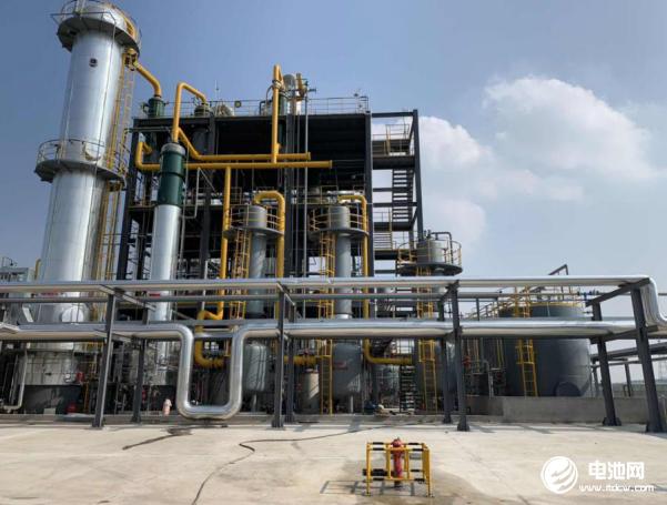 安徽信敏惠年产10万吨NMP项目一期投产