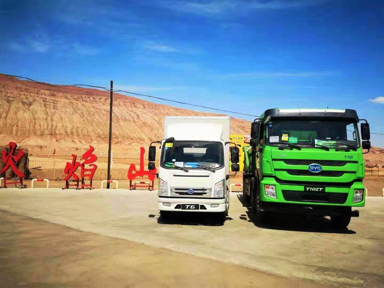 比亚迪纯电动自卸车挑战高温极限 彰显新能源重卡领域先进技术