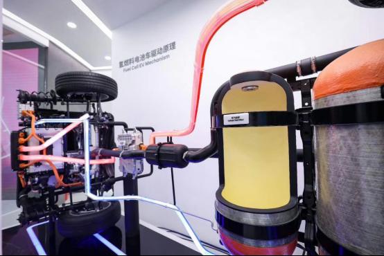 氢燃料电池车驱动原理