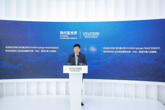 现代汽车(中国)投资有限公司总经理李丙晧社长