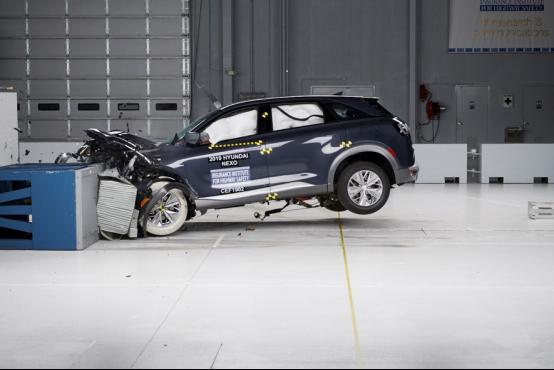 现代汽车碰撞试验