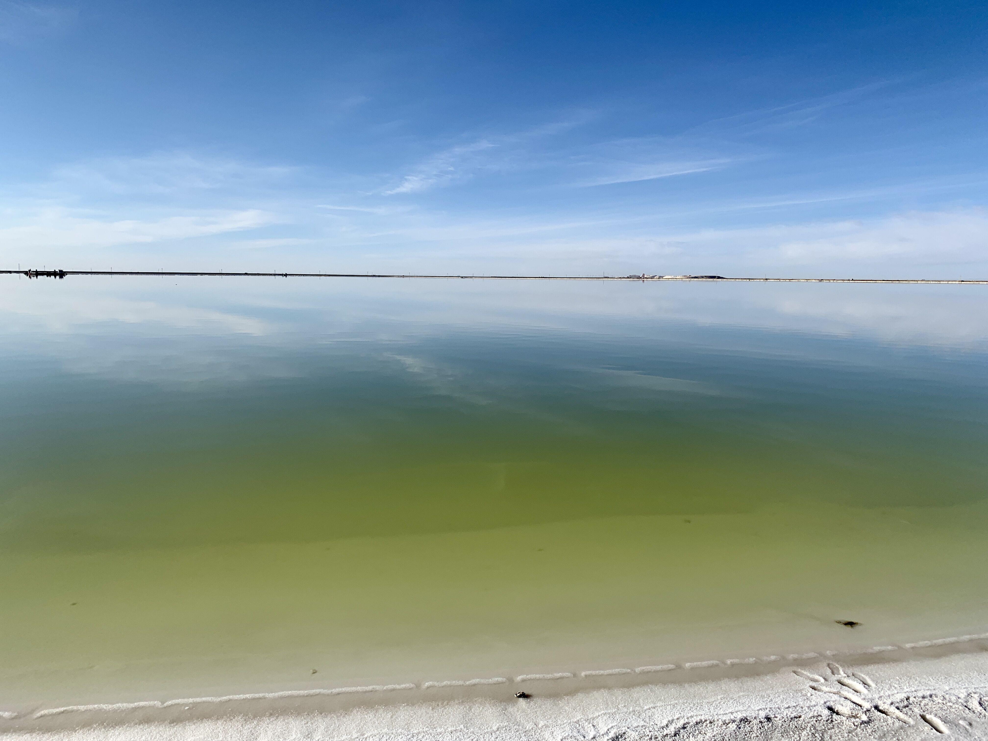 青海察尔汗盐湖