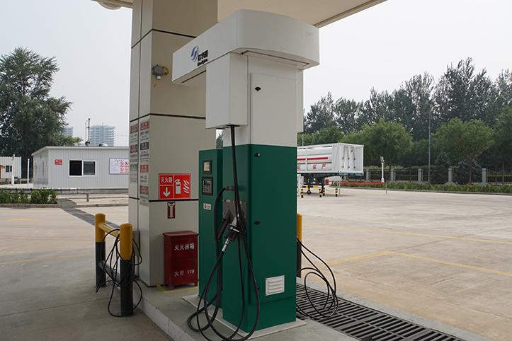加氢站 图片来源:亿华通官网