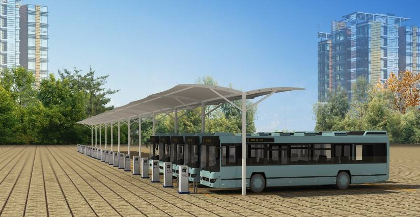 易事特甘肃网域720WMH储能电站已交付 充电桩可满足市面所有车型充电需求