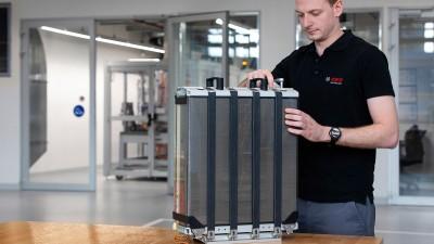 博世2018年起电动车业务订单超130亿欧元 燃料电池已投入生产