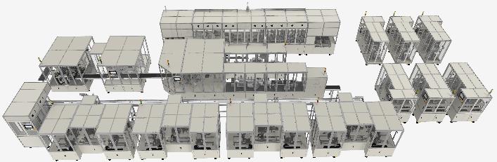 鸿宝科技软包固态电池自动生产线