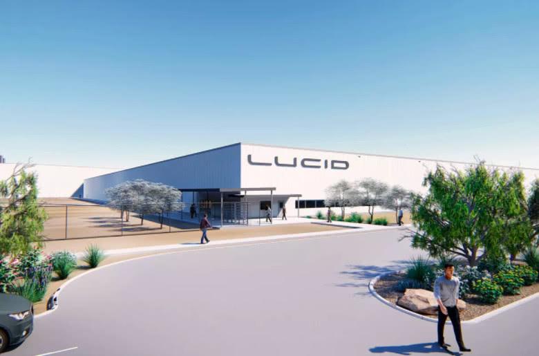 华人电动车厂商Lucid投资7亿美元建厂 即将破土动工