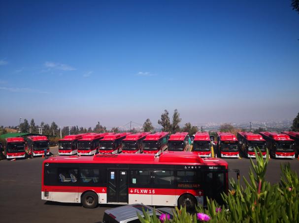 智利开通拉美首条电动巴士专线 183台运行车辆全部来自比亚迪