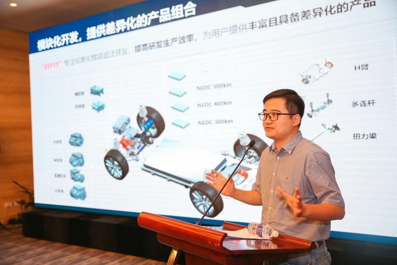 比亚迪汽车销售有限公司副总经理李云飞