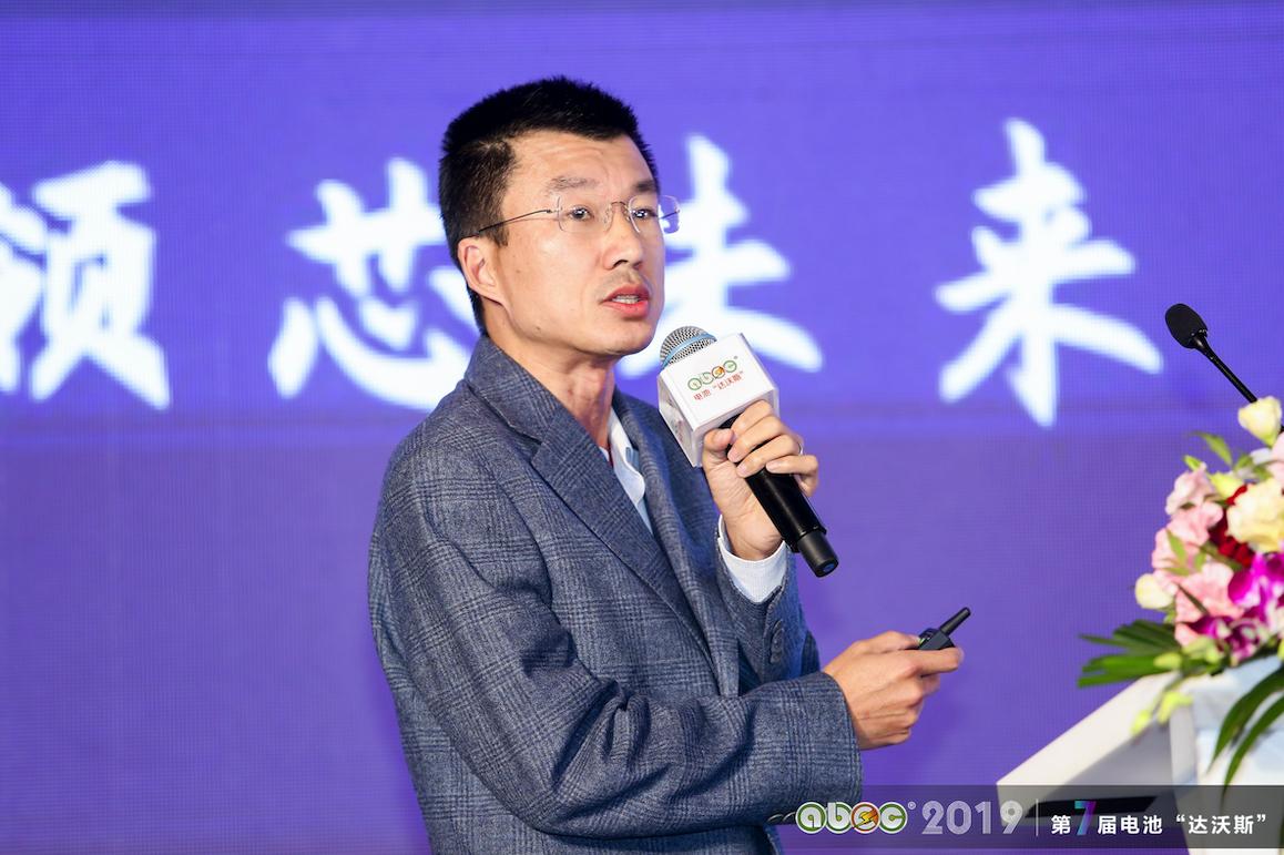 比亚迪股份有限公司锂电池事业群深圳研发中心副总监江文锋