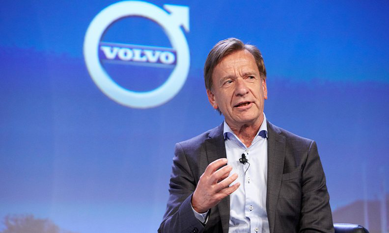 塞缪尔森:2025年沃尔沃全球电动车销量占比达50%