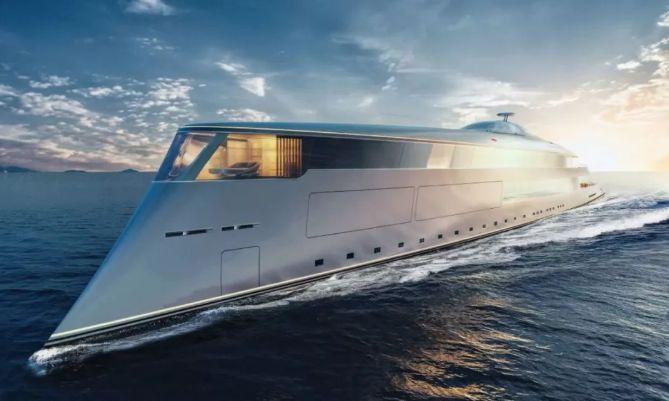 豪掷35亿!比尔·盖茨购入世界第一架氢动力超级游艇