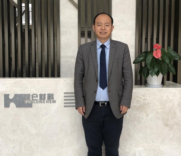 香河昆仑化学制品有限公司、湖州昆仑动力电池材料有限公司董事长郭营军