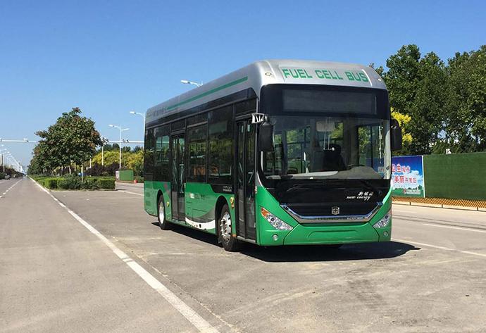 燃料电池客车 图片来源:雄韬股份官网