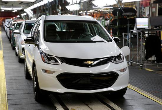 市值被特斯拉赶超 通用将推电动汽车缓解投资者担忧