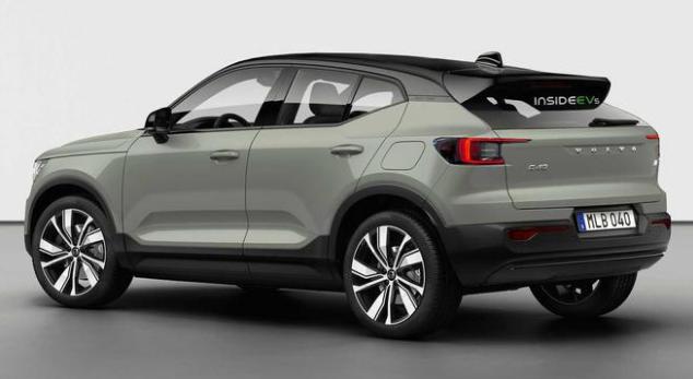 沃尔沃或推C40纯电动跨界SUV 预计2021年亮相