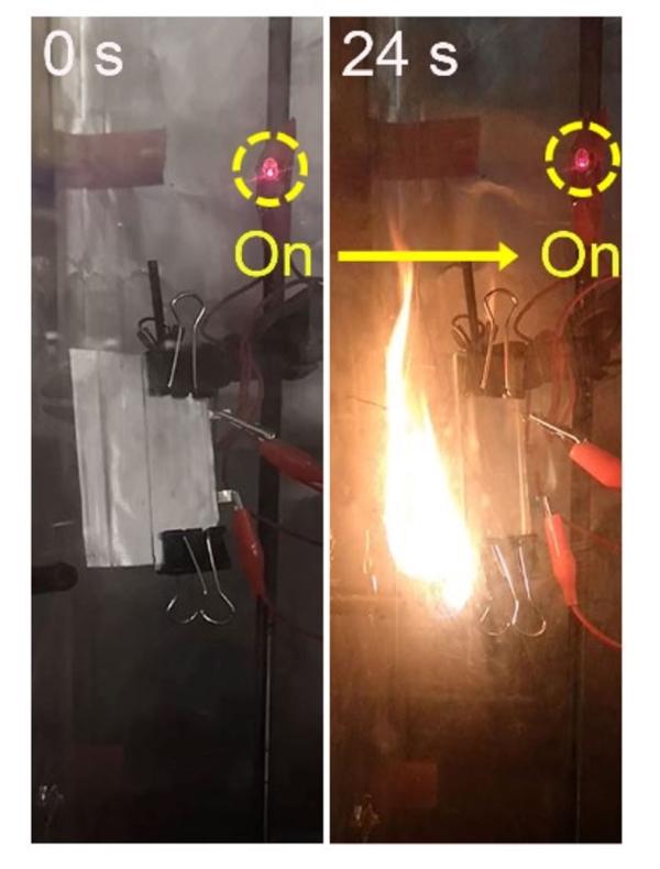 斯坦福研发阻燃固态电池:着火后依然正常供电