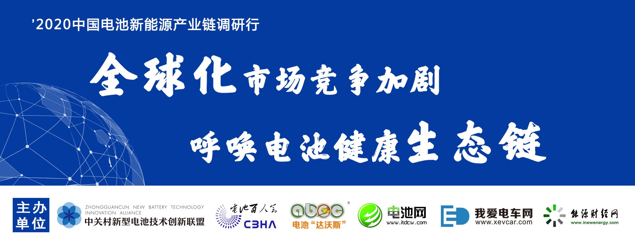 中国电池新能源产业链调研行