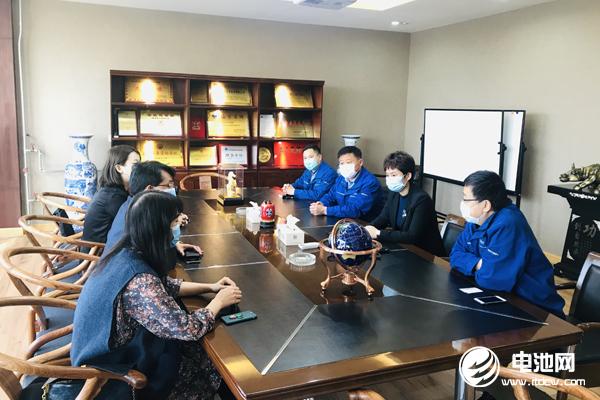 中国电池新能源产业链调研团一行与丰元股份、丰元锂能相关领导交流、座谈