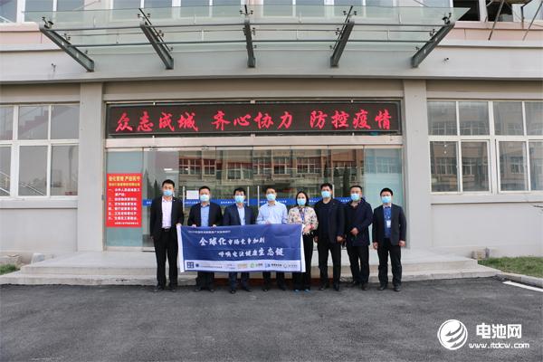 中国电池新能源产业链调研团一行参观调研精工电子