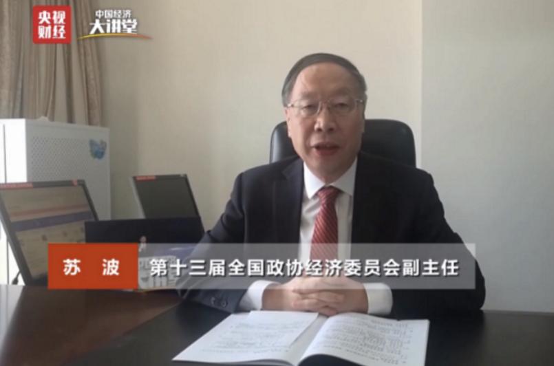 第十三届全国政协经济委员会副主任苏波